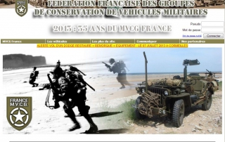 Site Web MVCG France